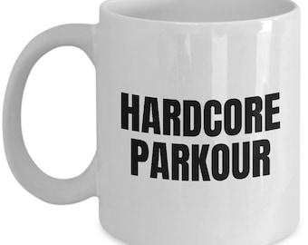 Parkour Present Idea - Traceur Mug - Hardcore Parkour - Freerunning Gift
