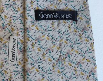 Gianni Versace vintage tie 1970s