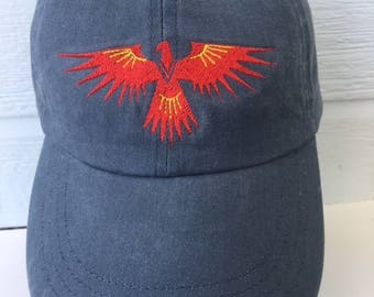 Native American Phoenix Thunderbird Embroidered Cap