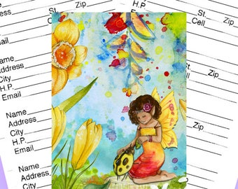 Address Book Ladybug