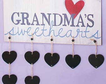 Grandma's Sweethearts Sign