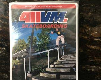 Vintage 411VM skateboard dvd