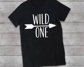 Wild One Birthday Shirt, Wild One First Birthday, Wild One Tee, Family of the WIld One