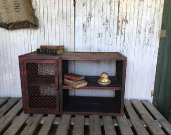 Industrial red Cabinet
