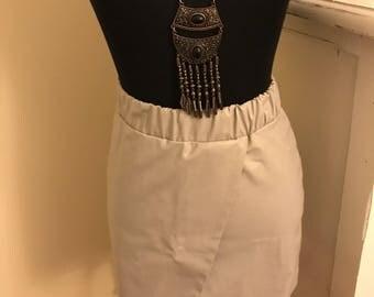Vegan Leather topshop skirt size 0