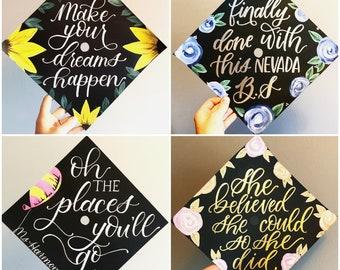 Custom Graduation Cap / Graduation Cap / Graduation Cap Topper