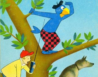 Vintage 1965 German-language book:  Globi als Detektiv
