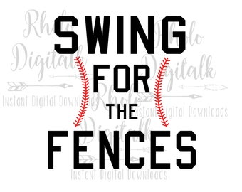 Swing for the fences-Instant Digital Download