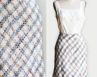 Vintage Talbots A-Line Texture Acrylic-Blend  Skirt US Size 4