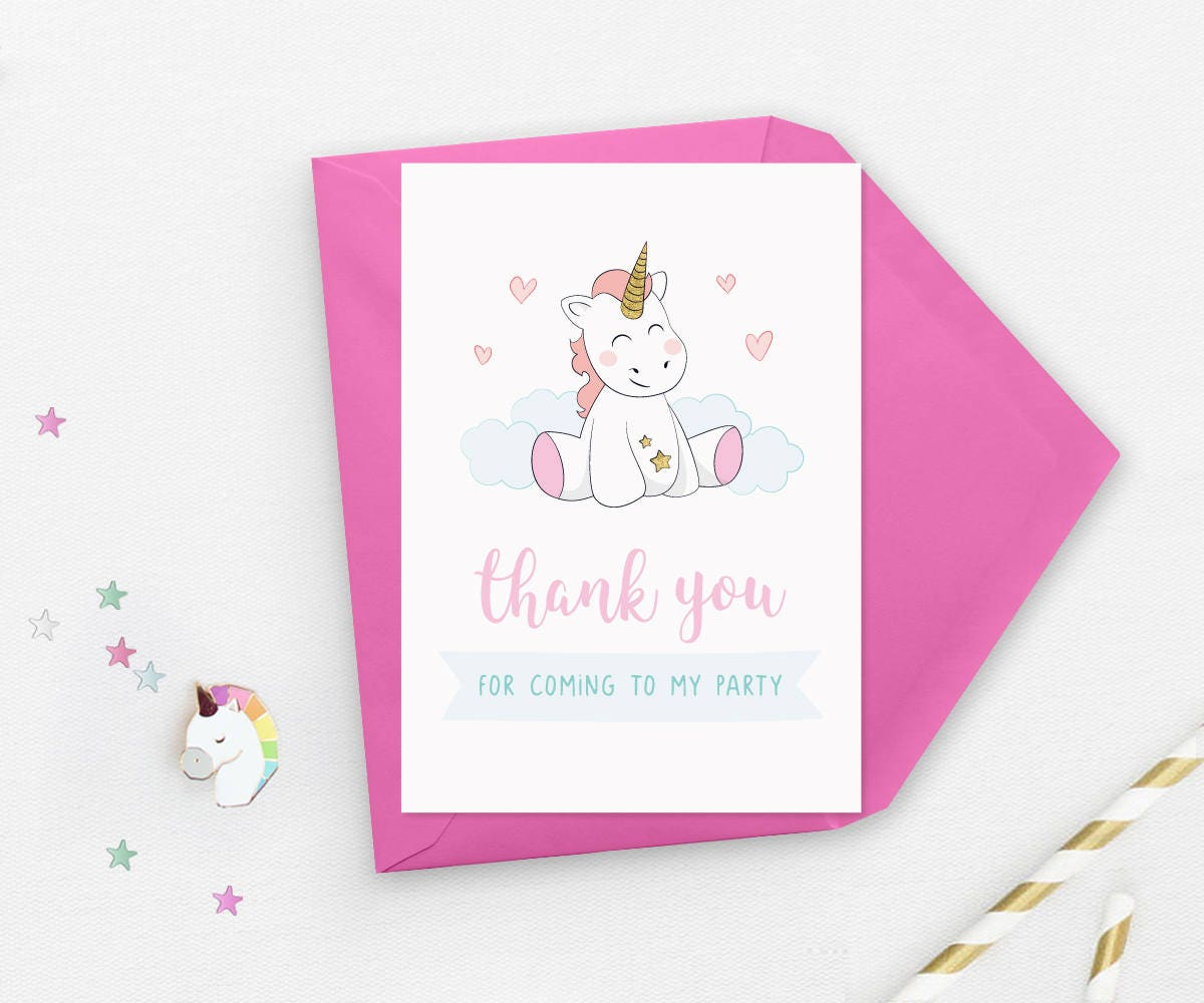 Unicorn invitations, Unicorn birthday invitations, Unicorn 1st ...