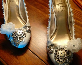 Victorian Steam Punk heels