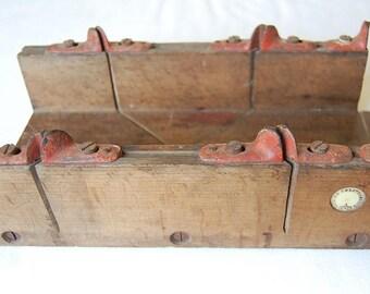 Vintage Edward Preston Wooden Mitre Box