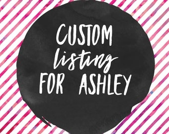 Custom listing for Ashley necklace with donut