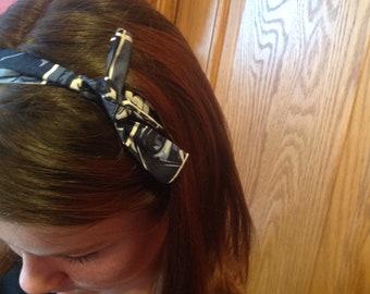 Star Wars Headband, one size fits all headband, baby headband, yoda headband, R2-D2 headband, blue headband, toddler headband
