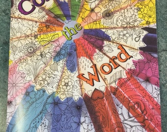 Colour the Word  colouring books