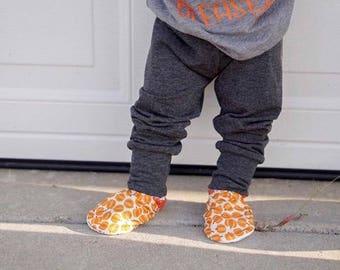 Pumpkin Patch booties