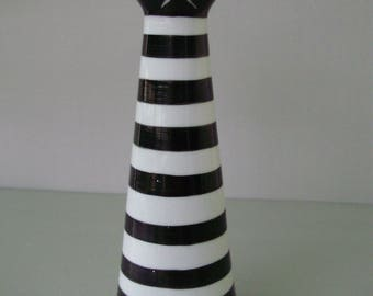 Vintage,Hungarian, Zsolnay art deco style porcelain cat vase ,hand painted stamped