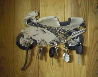 key wall ducati motorcycle