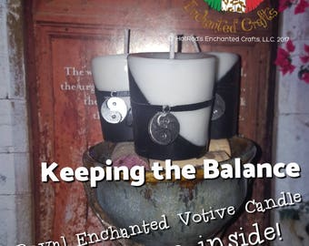 Keeping the Balance ~ Royal Enchanted Votive Candle