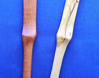 cuchillo para esparcir de madera #2