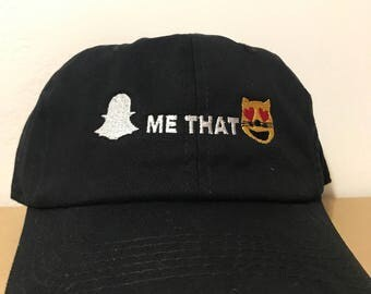 Snap Me That Kitty Dad Cap Hat