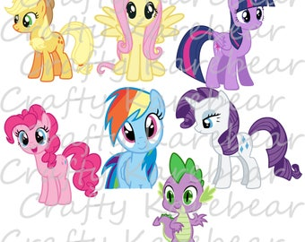 My Little Pony Svg and DXF Collection