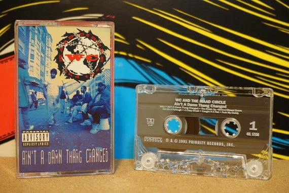Ain't A Damn Thang Changed by WC And The Maad Circle Vintage Cassette Tape