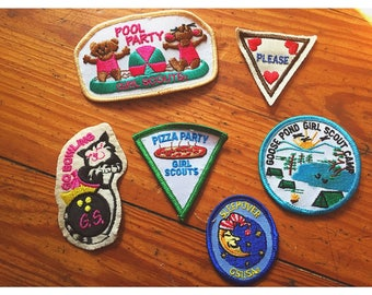 You're A Real Trooper Girl Scout Patch Collection