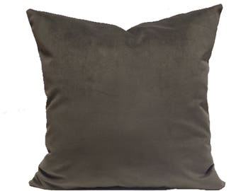 Storm Velvet Pillow Cover