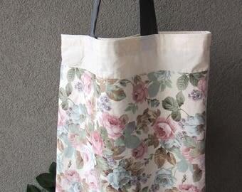 Tote-Shopper in flowers