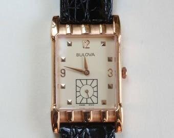 Bulova Wrist Watch Reproduction Vintage 1920's 1930's 1940's