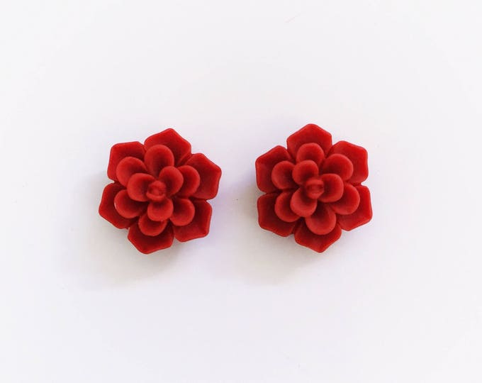 The 'Kelsey' Flower Earring Studs