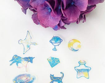Constellation Die Cut Stickers
