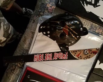Mask and machete for will