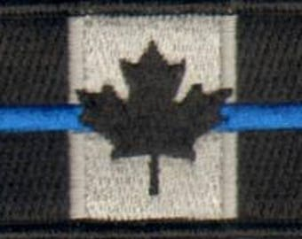 Coat Canada blue line with velcro