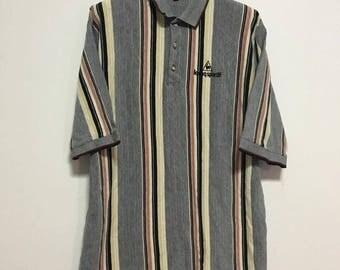 Vintage Le coq sportif Polo shirt size. L