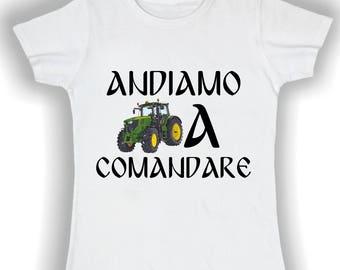 Women's Basic t shirt go to command
