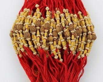 6 Rakhi - Rakshabandhan Rakhi Wristband- Indian Hindu festival Rakhi - brother Rakhi - Rakhi Wristband threads - set of 6 Rakhi