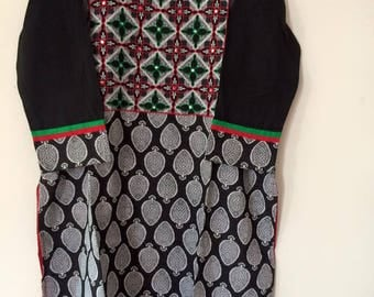 indian Kurti Kurta embroidery tunic top-3xl