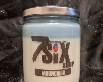 MOOCHILD Stress/Relaxation Candle + Free gift! (16oz. Soy Wax, Hand Poured Candle)
