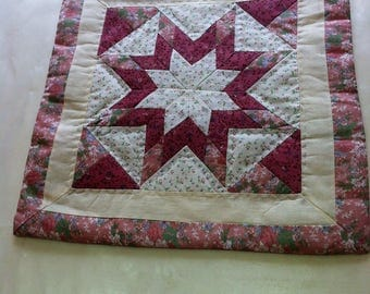Cushion cover, handmade, patchwork