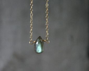 labradorite necklace, dainty labradorite, labradorite jewelry, gift for her,dainty jewelry,Gift for her,gift ideas,stone necklace,minimalist