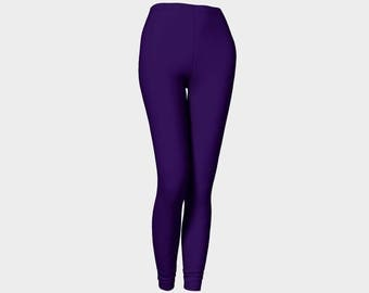Purple Leggings