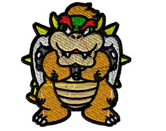Embroidery File, 5x7 Embroidery, Mario, Digital File, Embroidery Pattern, Machine Embroidery, Choose Your Format, Choose Your Size
