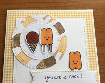Ice Lolly Card