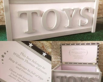 FREE DELIVERY Personalised,Personalized ToyBox,Toy chest,Toy storage,Fabric,Cushion top,Color,Seat,Toy bench,bedroom,kids decor,christening