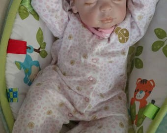 Reborn baby Ariel by Peach Fuzz Nursery