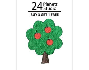 Apple Tree Iron on Patch by 24PlanetsStudio