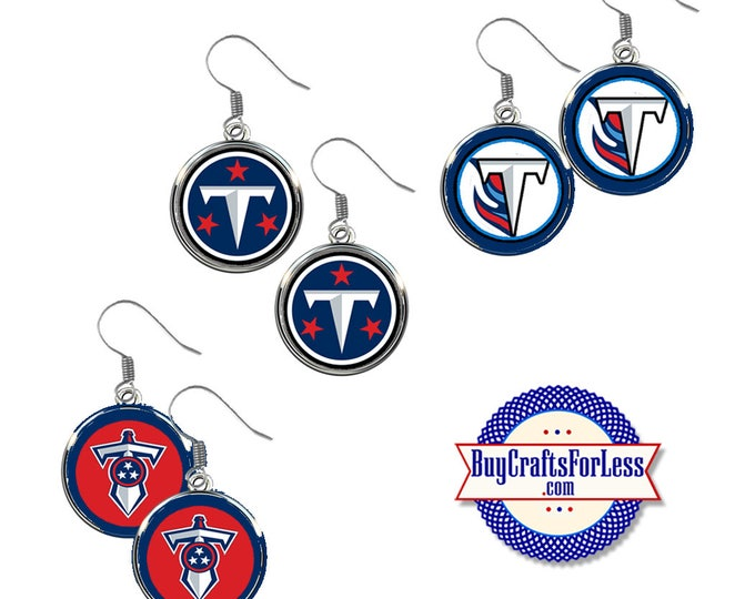TENNESEE Football EARRINGS, CHooSE Design  - Super CUTE!  +FReE SHiPPiNG & Discounts*