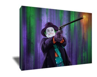 FREE SHIPPING Jack Nicholson The Best Joker Canvas Art